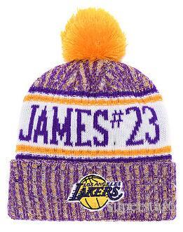 Top Selling LOS ANGELS Beanie LAK Lebron James 23 Beanies Sideline ... 90073712d8e