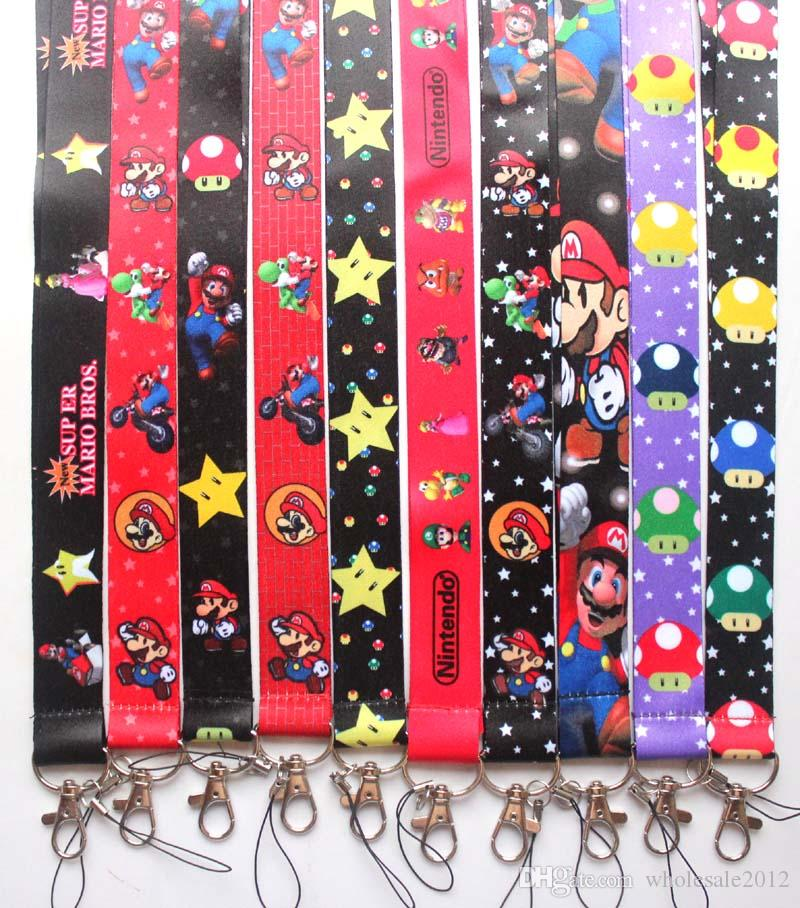 Free shipping 10pcs/lot cartoon Anime game Mobile Phone lanyard Cell Phone Straps & Charms Key chain straps charms samll Wholesale #91601