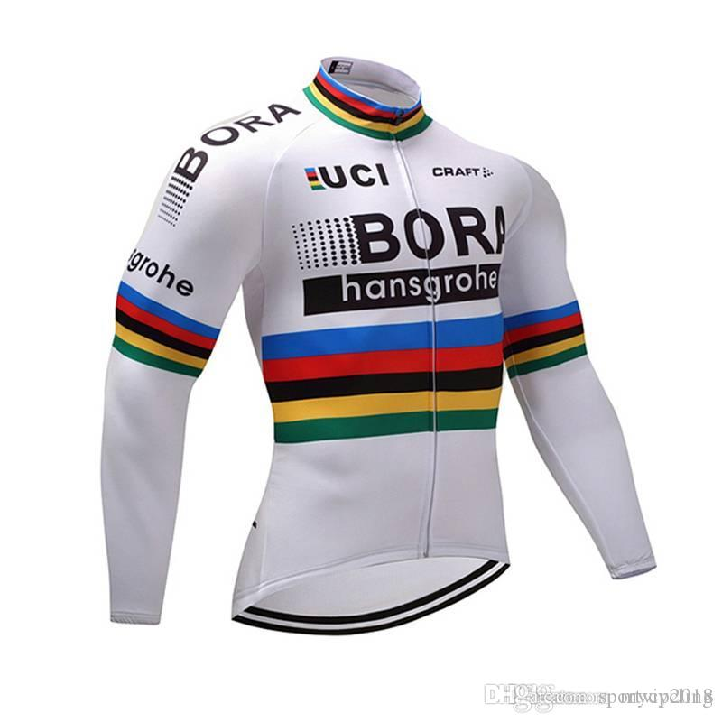 2018 Bora Cycling Jersey Long Sleeve Only Ropa Ciclismo Maillot ... d31063faf
