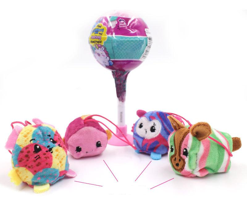 Anime Lollipop Balls Stored LOL Dolls Scented Plush Doll Surprise ball Cartoon Baby Dolls Figures Action Toys For Kid