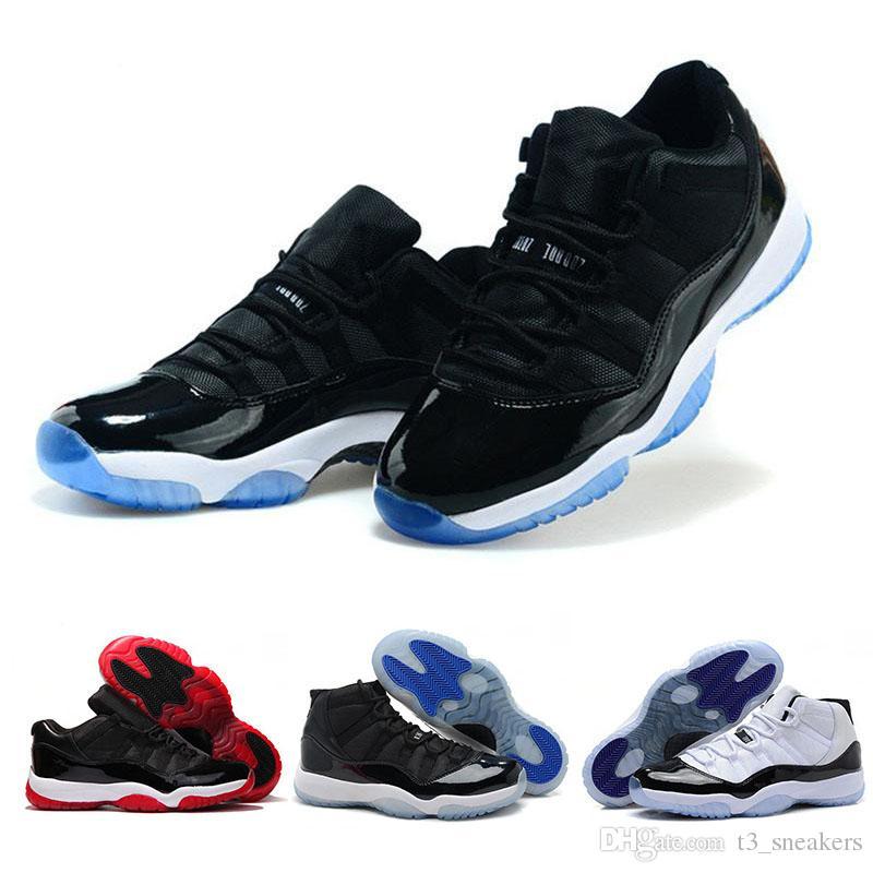 sale retailer 3d411 c0198 ... clearance acheter nike air jordan 11 retro space jam sneakers nouvelle  victoire véritable chaussures de sport