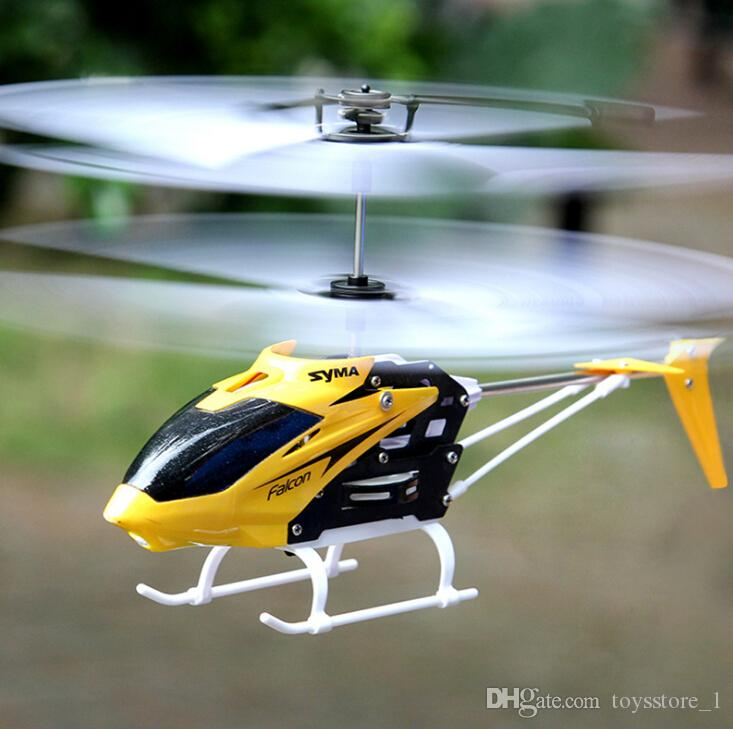 RC Helicopter Remote control aircraft Remote Control Line W25 fall helicopter helicopter drone children's educational electric toy small