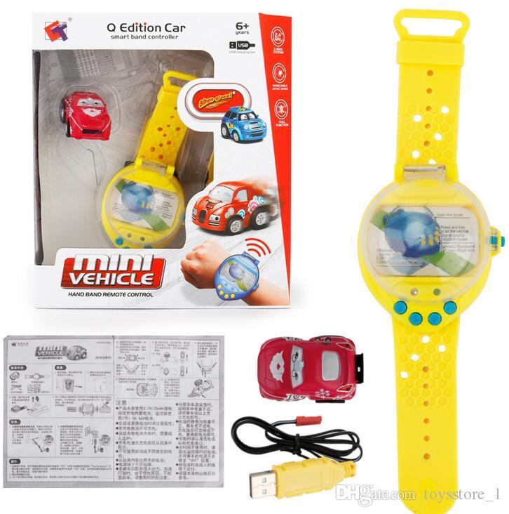 Baby Spielzeug Auto Gravity Sensing 4CH RC Auto Gestensteuerung Autos mit Wearable Watch Controller 4 Farben Fernbedienung Auto Geschenk für Kinder