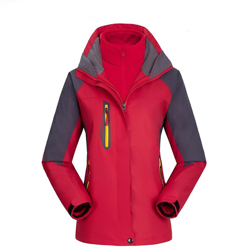 Outdoor jacken damen 3 in 1