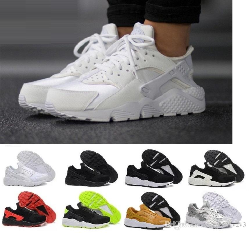 Hot Sale Air Huarache Running Shoes For Men Women Rose Gold High Quality  Sneakers Triple Huaraches Trainers Huraches Sport Shoes Free Shoes Discount  Running ... cd201bd09d3a