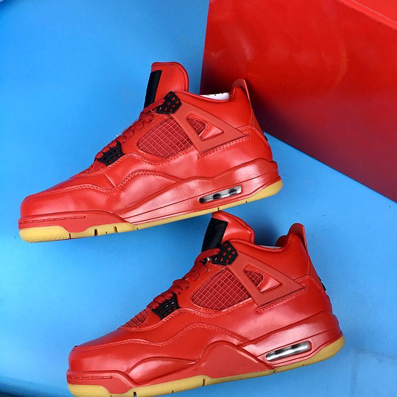 46502379268 2019 2018 Newest Men Basketball Shoes 4 Singles Day Fire Red Black White  AV3914 600 Mens Brand Luxury Sports Sneakers From Nike_jordan_shoes, ...