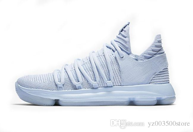 360326ea49c376 ... buy acheter kd basket ball chaussures homme nike kd 10 sport sneakers  triple noir blanc bhm