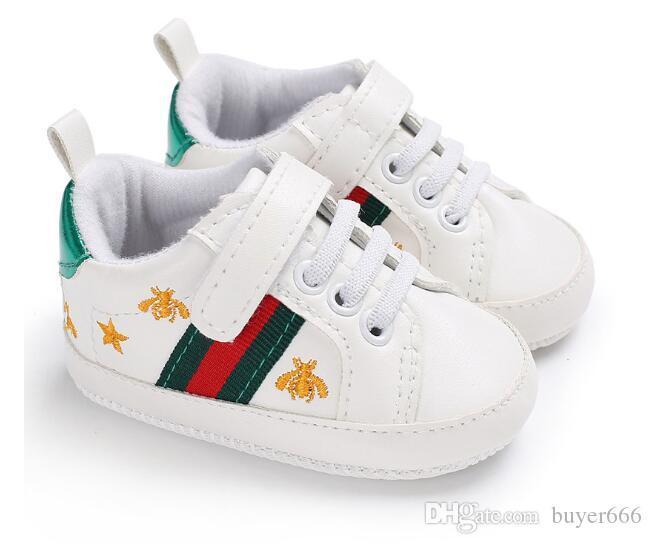 Compre 2018 Nuevos Zapatos De Bebé Recién Nacido Niños Niñas ...