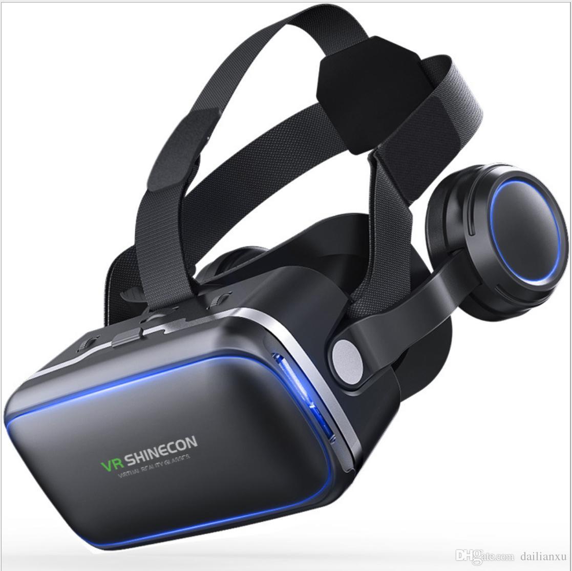 Acheter Casque D origine VR Shinecon 6.0 Version Lunettes De Réalité  Virtuelle Lunettes 3D Casque De  45.23 Du Dailianxu   DHgate.Com 70425c956c78
