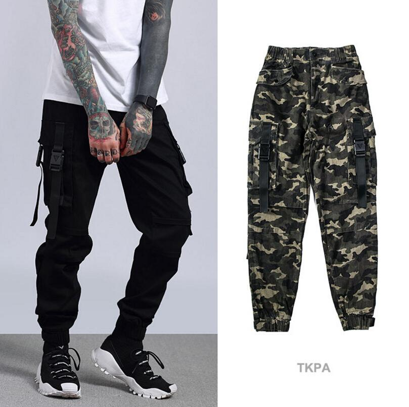 2019 Tkpa Spring Mens Camouflage Cargo Pants Style Casual Jogger