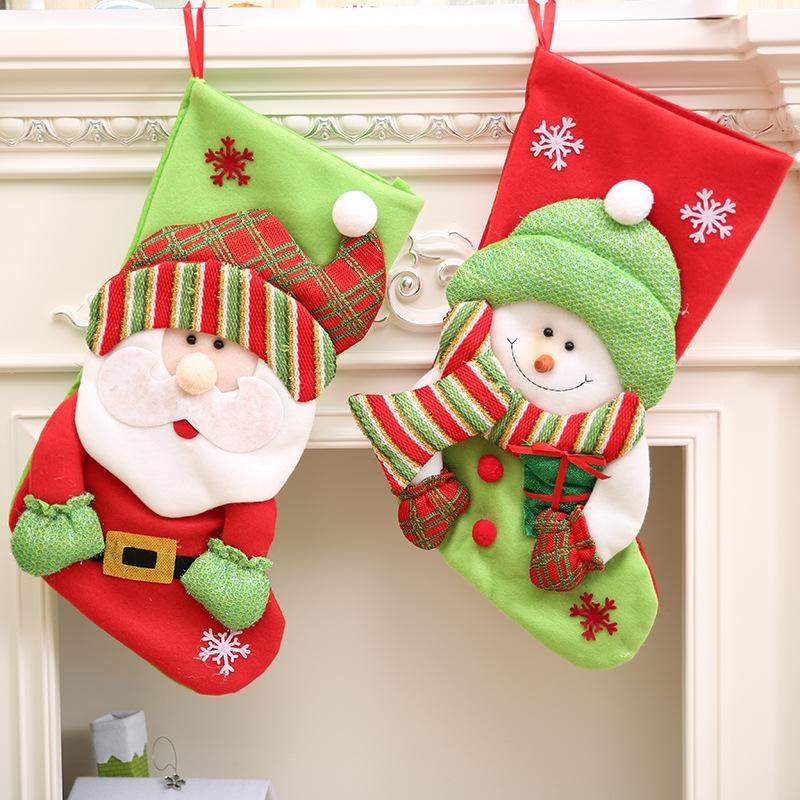 Großhandel 47x 23 Cm Neues Jahr Weihnachten Socken Weihnachtsmann ...