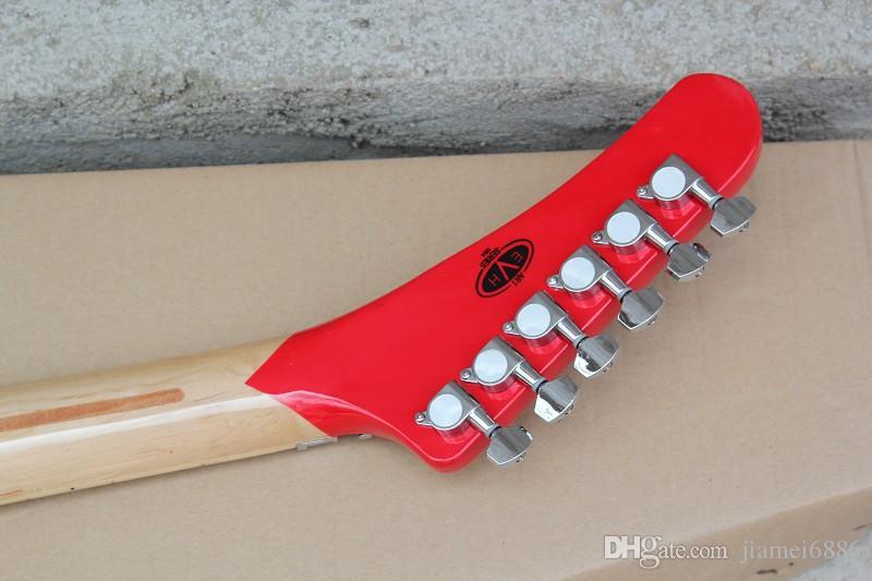 O fingerboard do bordo da listra da cor do corpo da guitarra elétrica do duplo-balanço 5150 pode ser mudado como necessário