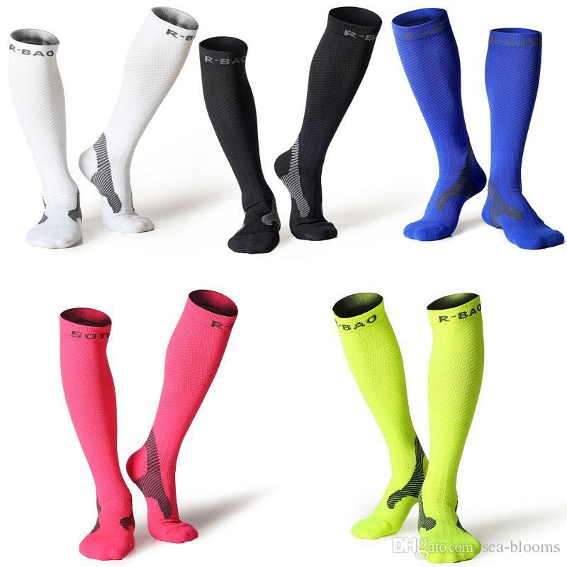 de263805922 2019 Compression Stockings Women   Men 10 25mmHg Marathon Professional Running  Socks For Basketball Football Socks Legguards Cycling Socks G497Q From Sea  ...