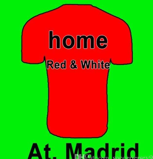 41ab6c56fe A. Camiseta De Fútbol De Madrid 2018 2019 Local Visitante 3º GRIEZMANN KOKE  GABI SAUL CARRASCO DIEGO COSTA GODIN Camiseta De Fútbol Uniformes Camisetas  Por ...