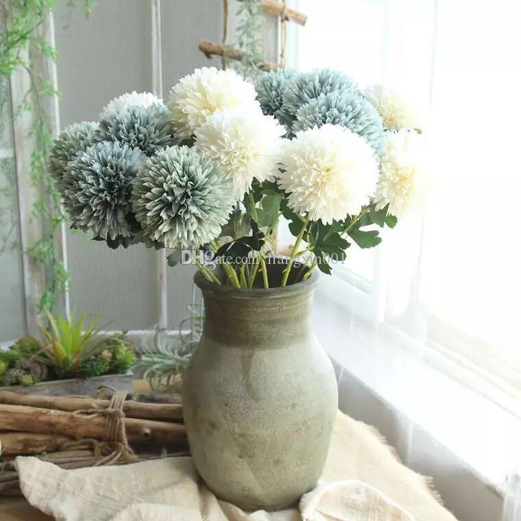 2018 artificial flower dandelion bridal bouquet silk flower for 2018 artificial flower dandelion bridal bouquet silk flower for wedding valentines day party home table diy decoration multi color from liangxin001 mightylinksfo