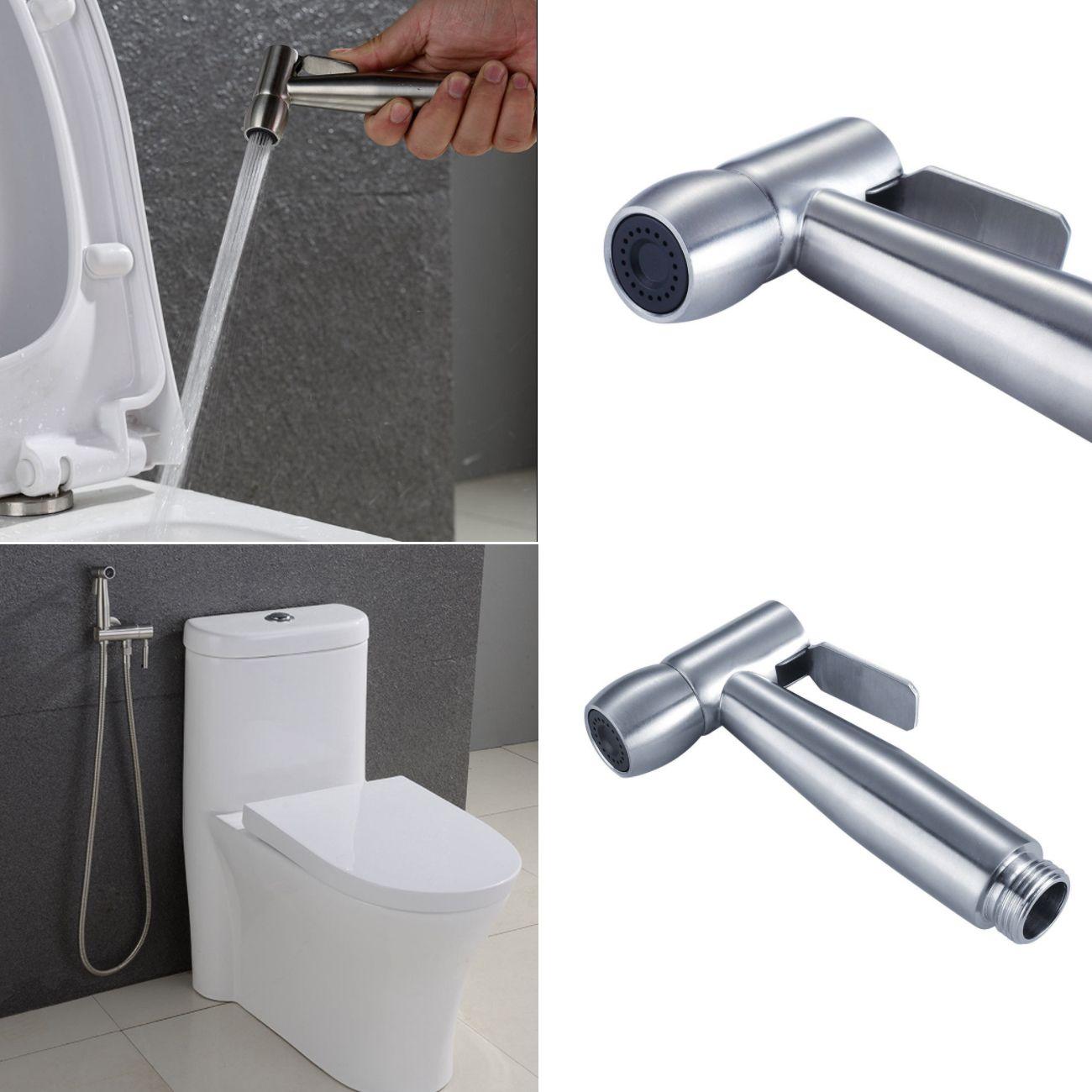 2018 Bathroom Toilet Bidet Spray Handheld Shower Head With Wall ...