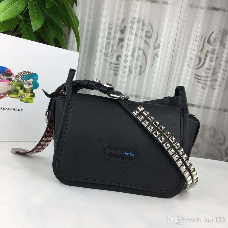41fee9d7441f4 Concept Calf Leather Bag High Quality Woman Fashion Shoulder Bag Plain 2018  New Arrive Designer Bags Size 26*17*11 Model 1BD123 Ladies Handbags Leather  ...