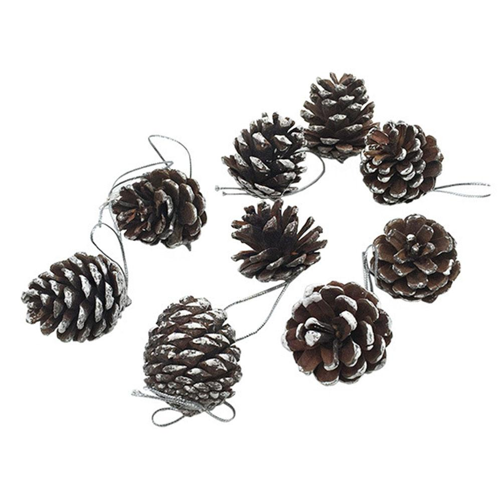 Gift Party Supplies Hot Christmas Pine Cones Xmas Tree Decoration Ornaments