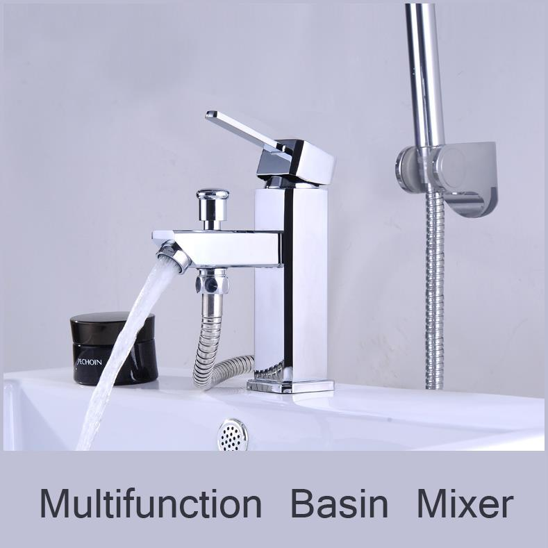 2018 Price Only For Faucet Chrome Basin Mixer Faucet Hot Cold ...