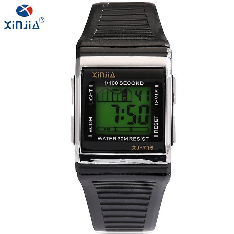 95209943dfe4 Compre XINJIA Marca TOP Original Hombre Reloj Moda Luminosa Ocio Relojes De Pulsera  Electrónicos Cómodo Impermeable 30 M A Prueba De Golpes A  22.04 Del ...