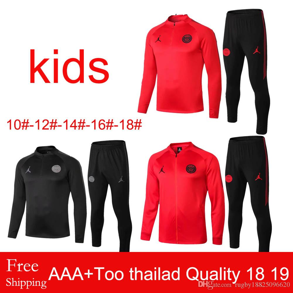 43e53c42e46035 Best-selling New 1819 Season AJ Paris Saint-Germain KIDS Sportswear ...