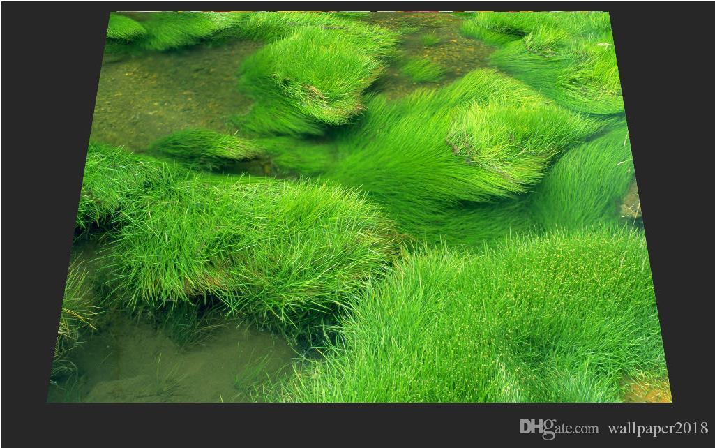 пол PVC картины Пола травы прилипателей настила винила декоративный Self-adhesive