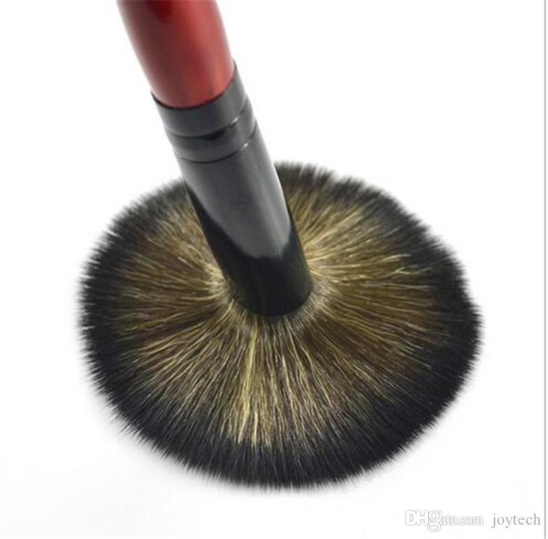 Beauté Femmes Poudre Pinceau Simple Doux Cosmétique Maquillage Pinceau Lâche Forme fondation maquillage brosse Vente Chaude DHL livraison gratuite