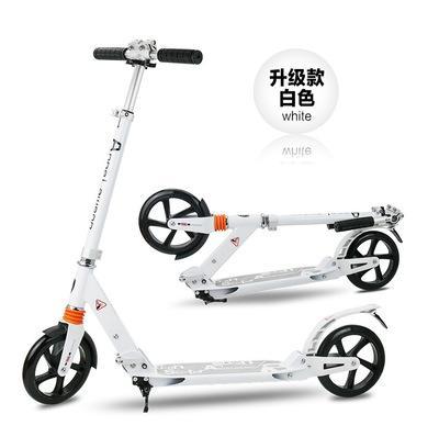 Elektro-scooter Sport & Unterhaltung 2 Rad Roller Für Erwachsene Kinder Folding Tragbare Mini Fahrrad Erwachsene Tretroller Höhe Einstellbar Roller Professionelles Design
