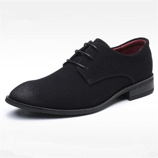 Summer Mesh Spring Leather Dress Shoes Breathable Men Formal Business Oxfords Plus Size 38-48 For Sale Dress Shoes For Men Strong Resistance To Heat And Hard Wearing Formal Shoes