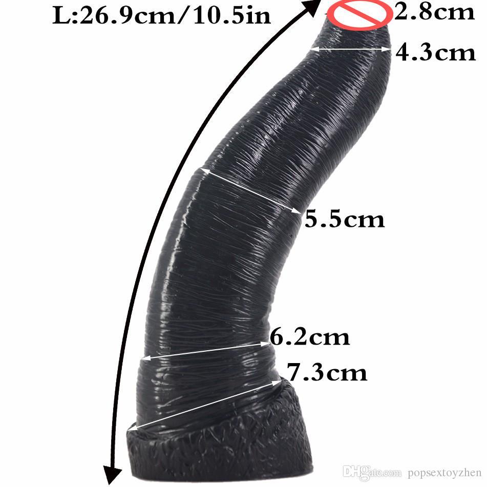 LZYAA Long Animal Dildo Realistic Huge Elephant Dildos Big Penis Sextoy Super Soft Dick Adult Sex Toys For Women Sex Shop