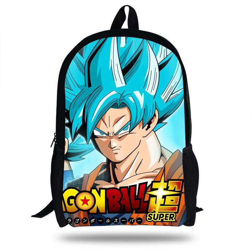 Großhandel 16 Zoll Kinder Jungen Rucksack Dragon Ball Schultaschen ...