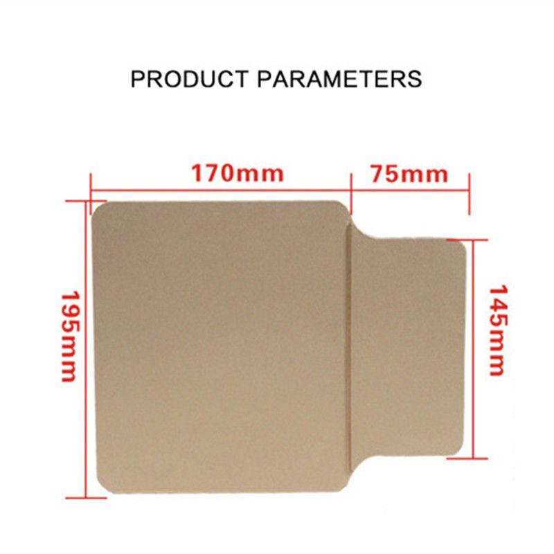Yeni Moda Qi Kablosuz Şarj Pad iphone 8 X Samsung Not 8 S8 S7 Kenar Bilgisayar Dizüstü Fare Pat Mat Şarj Adaptörü