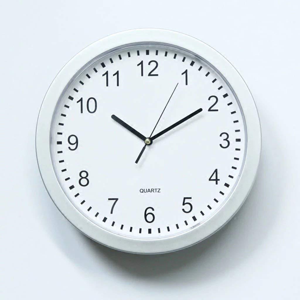 Moderne Weiße Wanduhr Home Wohnzimmer Uhr Kreative Uhr Mode Lagerung  Einfache Kunststoff Runde