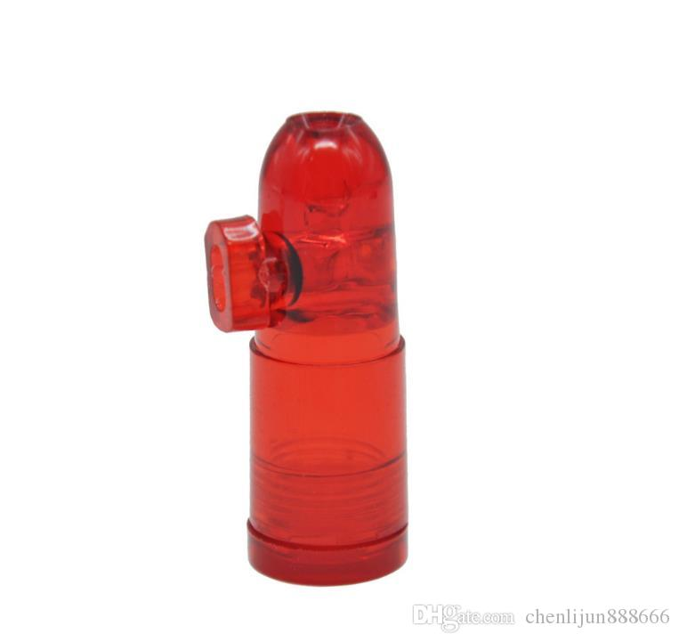 Acrylic snuff bottle Snuff Bullet
