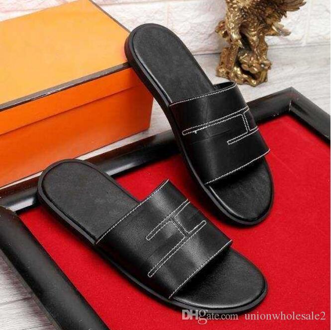 4b32e494c710aa Mens Shoes Men S Flats 2018 Brand Shoes Italian Luxury Men ShoesS Men  Sandals Casual Fashion Men Sandals Super Star Slippers Size 38 45 Womens  Sandals ...