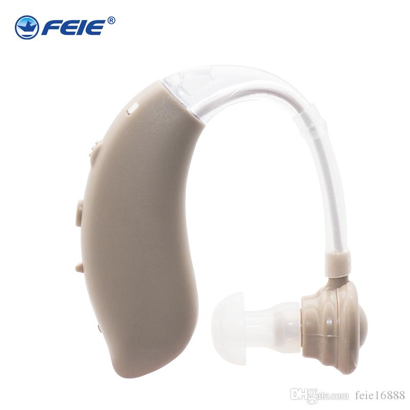 newest Hearing Aid Portable Small behind the Ear Invisible Audiphoe Best Sound Amplifier Adjustable Deaf-aid Tone for elderly and deaf S-25