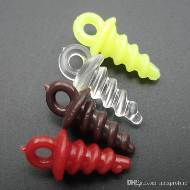Screws Fishing Chod Rigs Plastic 100pcs Carp Bait Holder Pop Up Pegs