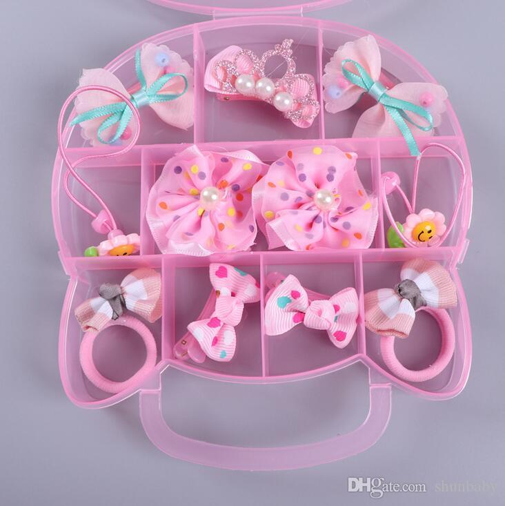 1dfbf6f2a Baby Children Girls Hello Kitty Cat Ears Hair Clip Barrette Rubber Band  Crown Hairgrip Tiara Headdress Accessories Gift Set Cute Baby Hair  Accessories White ...