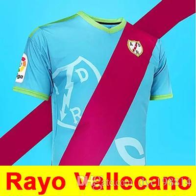 18 19 Rayo Vallecano Jersey Local Visitante Alex Moreno Camisetas De Fútbol  2018 2019 Top Calidad Tailandesa SAD Rayo Vallecano Camisetas De Fútbol Por  ... accf5da514d9d