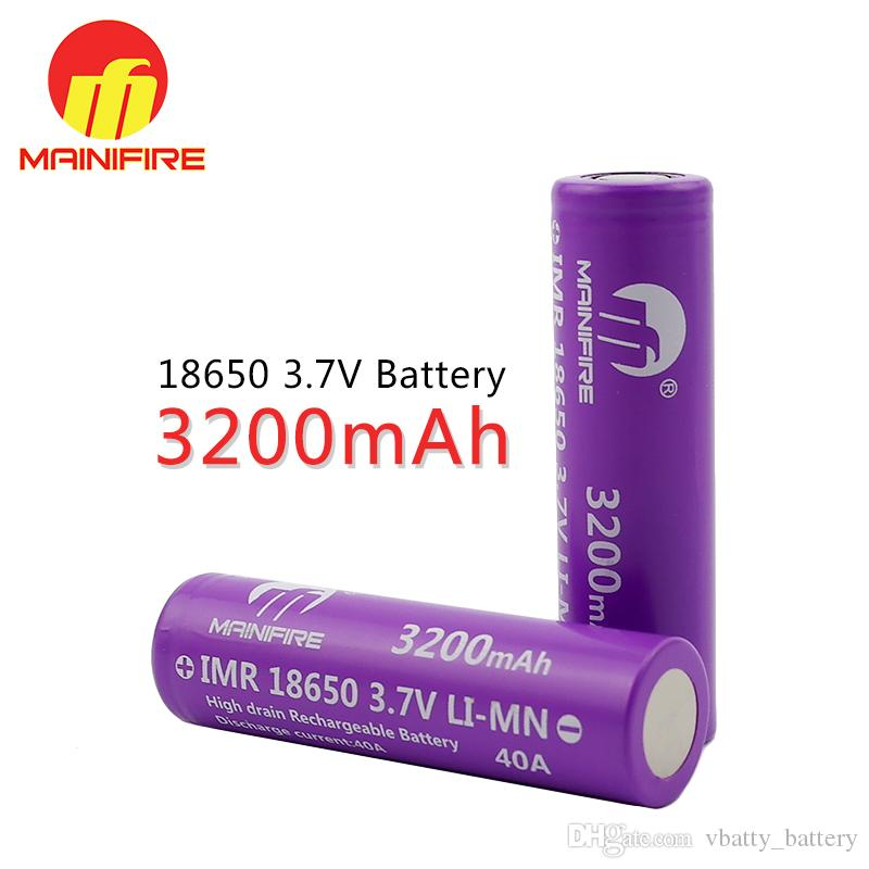 Certificated 18650 Li Ion Battery 37v 3200mah High Quality