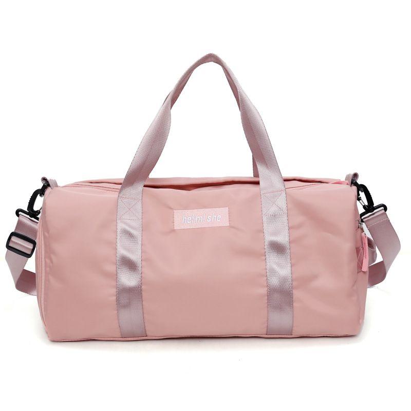 d758ce653b95 Hot Sports Gym Bags Portable Female Folding Storage Outdoor Training Travel  HandBag Large Capacity Women Fitness Yoga Duffle Bag Cheap Designer Handbags  ...