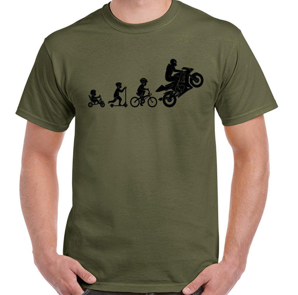 bde5206559 Motorbike Evolution Mens Funny Superbike T Shirt Motorcycle Sports Bike  Biker 10 T Shirts Cool Shirts Designs From Spreadshirt, $11.01| DHgate.Com