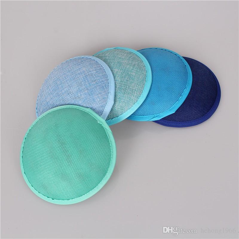 Высокое качество Fascinators Base Hat Батист имитация Sinamay Cap DIY аксессуары для волос коктейль шляпы для партии свадьба 4 5xm УУ