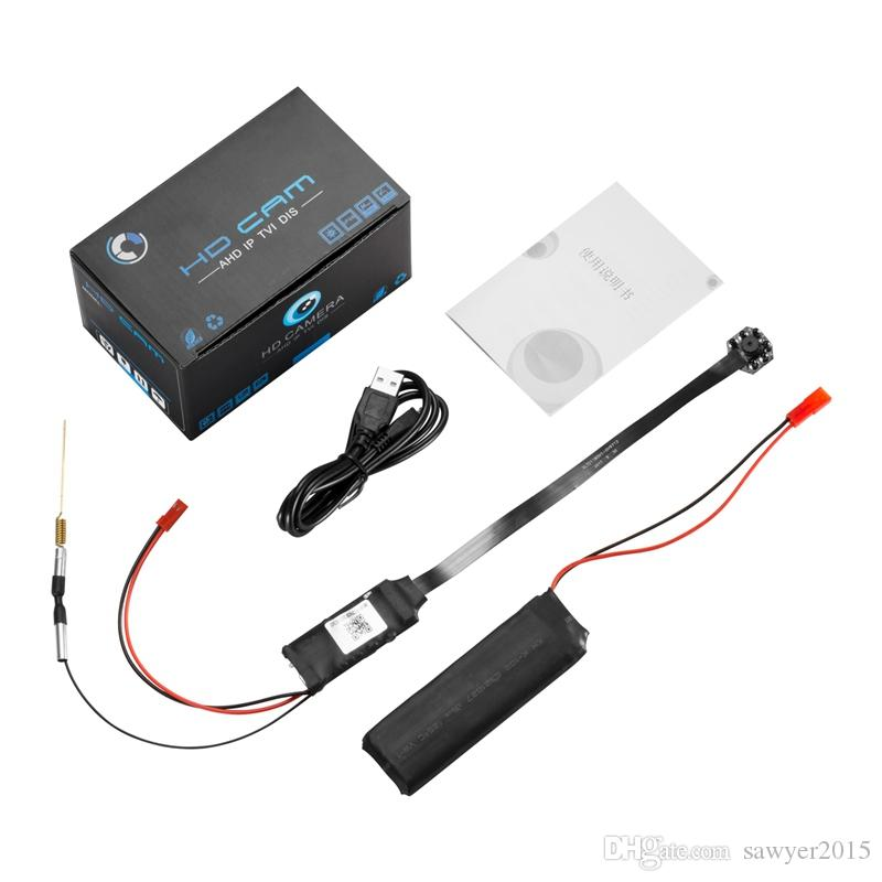 Modulo wifi fai-da-te Modulo IP telecamera 4K Ultra-HD IR modulo di visione notturna scheda pinhole telecamera di sicurezza domestica Telecamera di sorveglianza CCTV