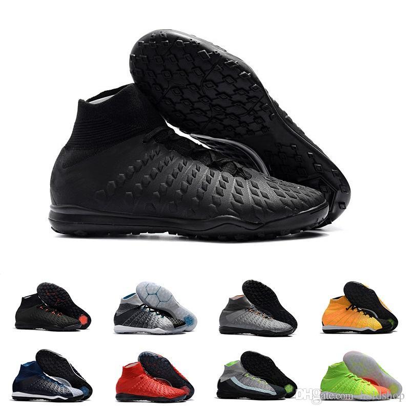 separation shoes 3d1f6 7258e Descuento Hombre Mejor Calidad Tobillo TF Botines De Fútbol Hypervenom  Phantom III DF Zapatos De Fútbol Neymar TF Botas De Fútbol Botines Hombres  Zapatos De ...