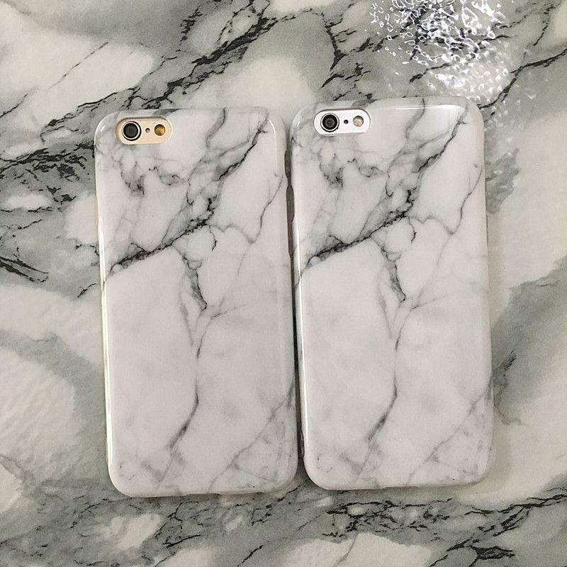 Marmor Rock Stein Textur Muster rückseitige Abdeckung Fall für iPhone X IMD TPU-Telefon-Abdeckung