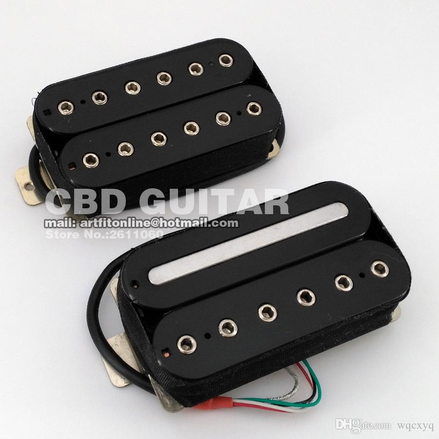 2018 One Set 4 Wires Coils Split Humbucker Bridge And Neck Electric ...
