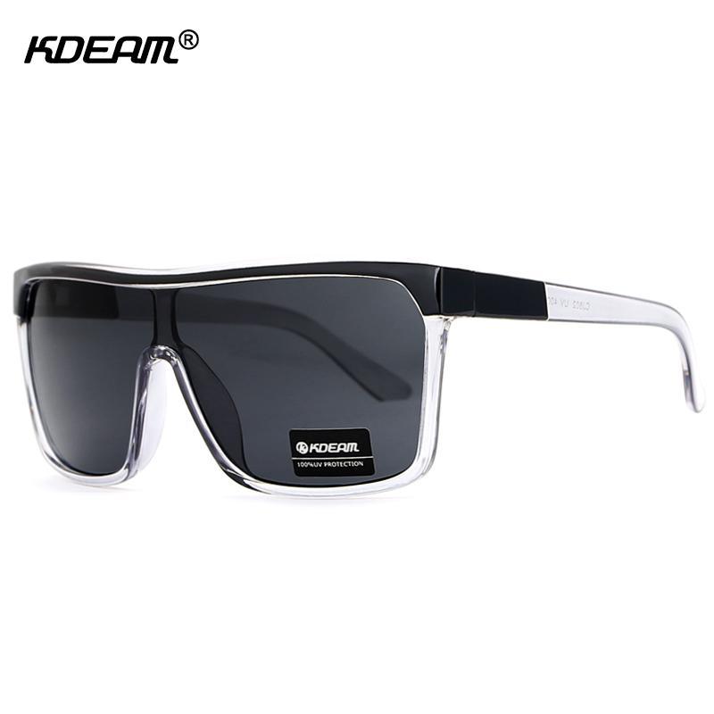 d4b52efc8 Kdeam Flying Sunglasses Shield Oversized Sun Glasses Men UV400 Skate  Steampunk Goggles Masculino CE With Box Sunglasses Shop Bolle Sunglasses  From Dracaena, ...