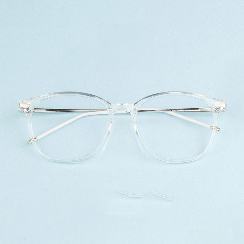 Compre Vazrobe Transparente Óculos Homens Mulheres Preto Vintage Óculos De Armação  Prescrição Feminina Óculos Ultra Leve Dioptria Eyewear De Baozii, ... 260322af48