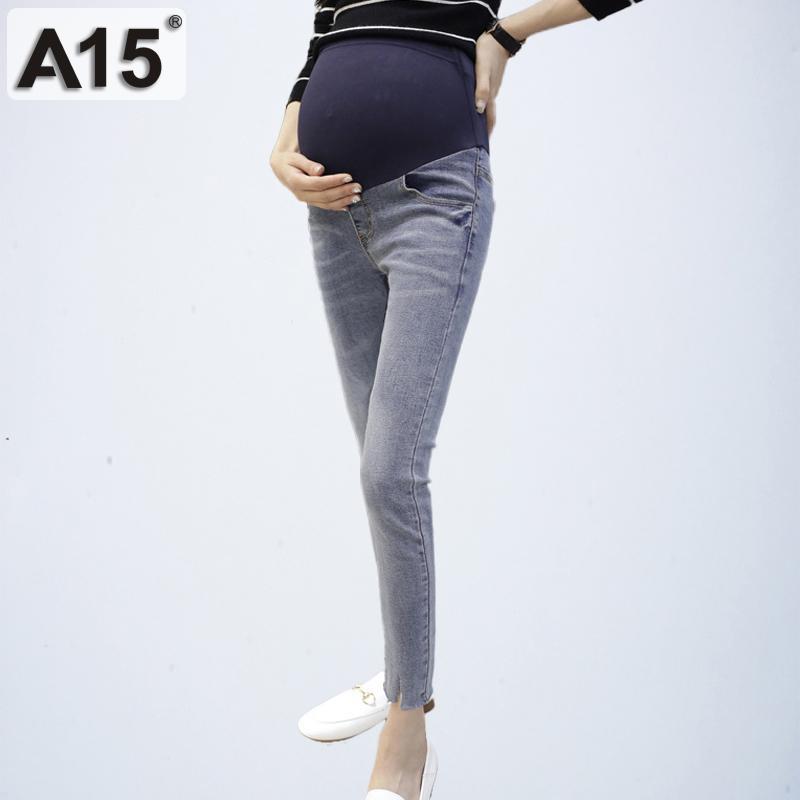 07199c3c1 Compre Brand Maternity Jeans Ropa Para Embarazadas Ropa Interior De  Mezclilla Pantalones Pitillo Pantalones Ropa Para Mujeres Embarazadas  Pantalones Tallas ...